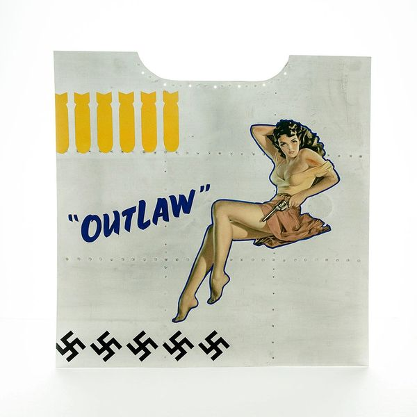 "Nose Art Panel- ""Outlaw"" NAP-0128"