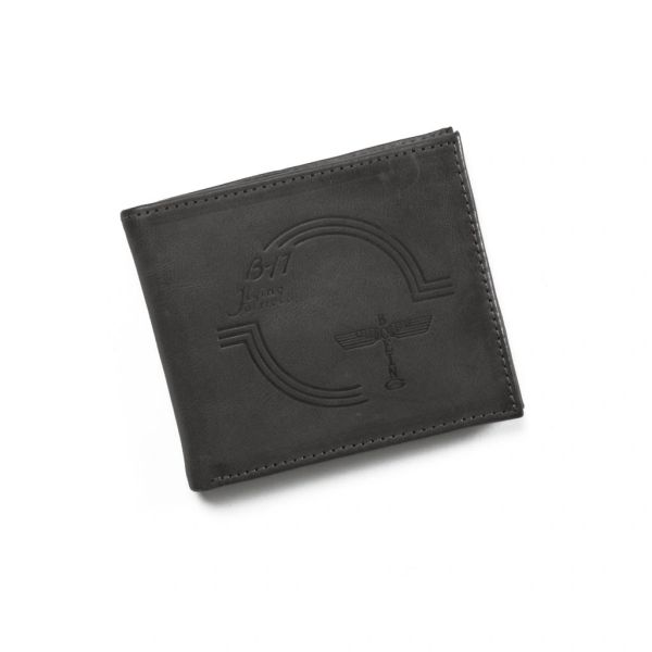 Boeing B-17 Flying Fortress Distressed Leather Wallet BOE-0142