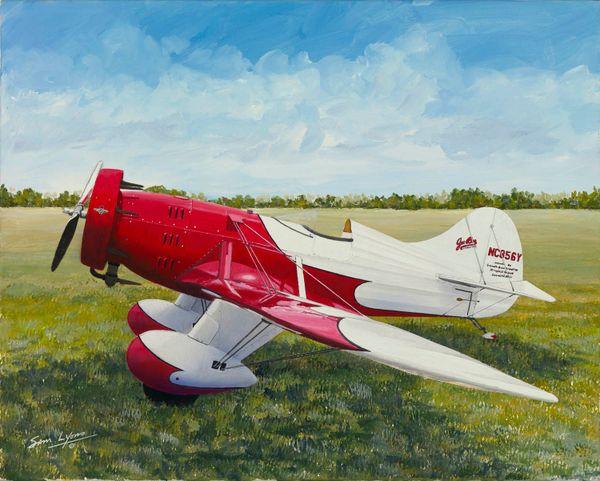 Sam Lyons Print, Gee Bee Racer LS-1082