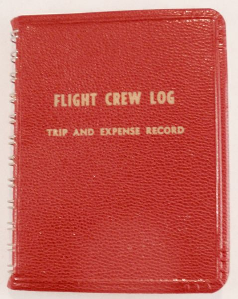 Flight Crew Log/Trip & Expense Record, 1964 LIT-0107
