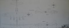 Boeing B-17 Flying Fortress Camouflage Paint Drawings MIS-0110