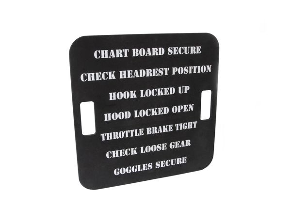 Repro. WW II Aircraft Carrier Catapult Chalkboard Checklist CKL-0115
