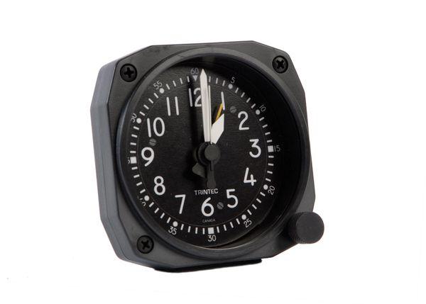 Cockpit Style Desk Model Alarm Clock TRI-0106K