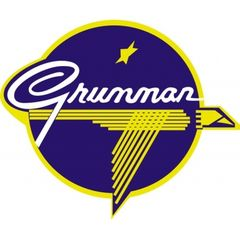 Grumman Logo Metal Sign CAP-0101