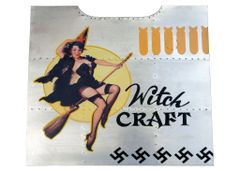 "Nose Art Panel- ""Witch Craft"" NAP-0104"