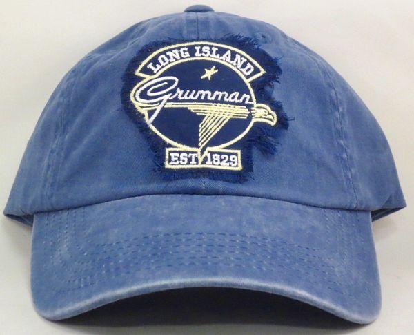 """Grumman Vintage Logo """"Worn Patch"""" Hat CAP-0110"""