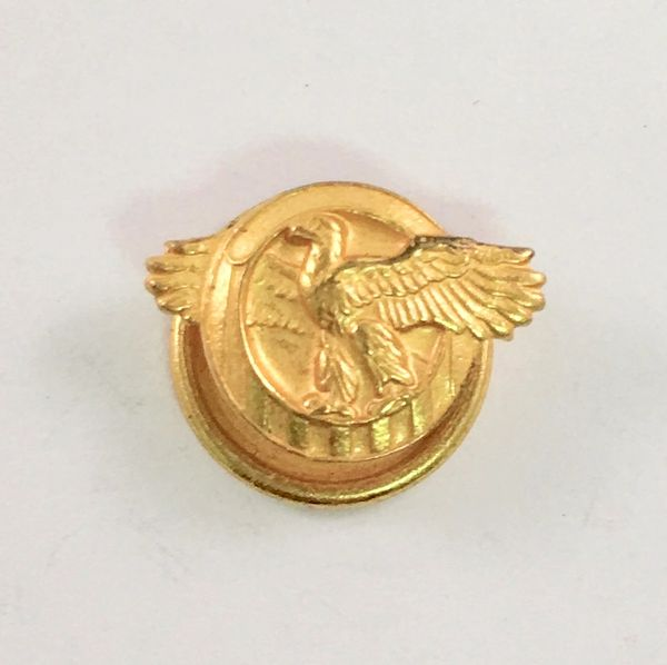 "WW II Honorable Discharge ""Ruptured Duck"" Lapel Pin AWD-0104"