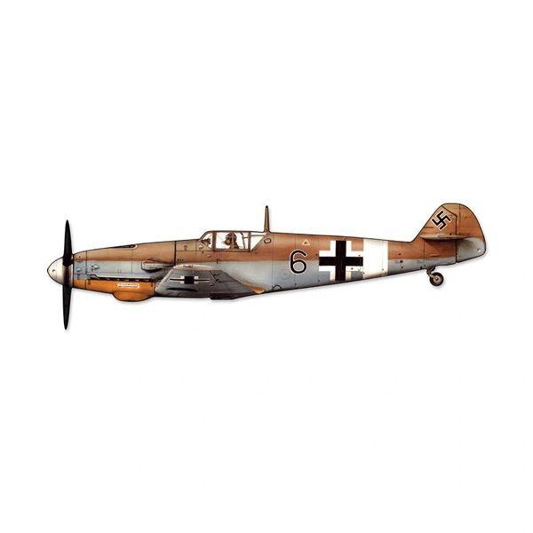 Messerschmitt Bf 109 (Me 109) Cutout Metal Sign SIG-0130