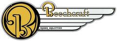 """Beechcraft Metal Sign, with or without """"Radar Equipped"""""""