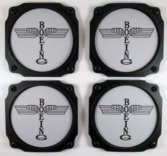 Early Boeing Logo Coasters, Set of 4 I-PI-0102A