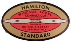 Hamilton Standard Propeller Decal DEC-0102