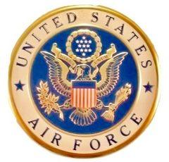 "United States Air Force Medallion Insert, 4"" EMB-0102"