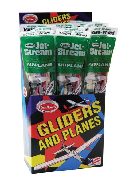 Guillow's Jetstream 18 Piece Display Pack GUI-55-DIS