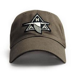 NAA P-51 Mustang Baseball Cap, Khaki HAT-0104