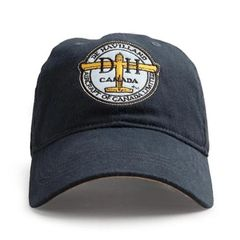 de Havilland Logo Baseball Cap, Navy HAT-0105