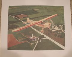 Taylorcraft Limited Edition Print by E. Rothering ART-0104