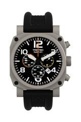 Professional Chronograph Pilot Watch, Stainless Steel WAT-0105