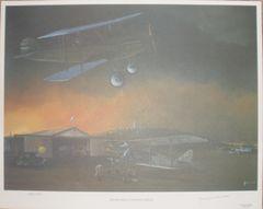 """""""Hometown Landing Field"""" Lithograph ART-0111"""
