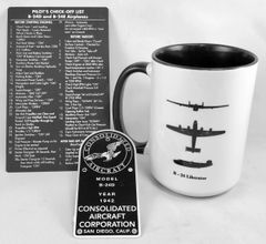 Consolidated B-24 Liberator 3-Piece Grouping GRP-0136