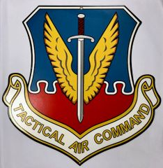 Tactical Air Command Metal Sign OUR-0102
