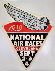 Reproduction 1939 National Air Races Metal Sign OUR-0104