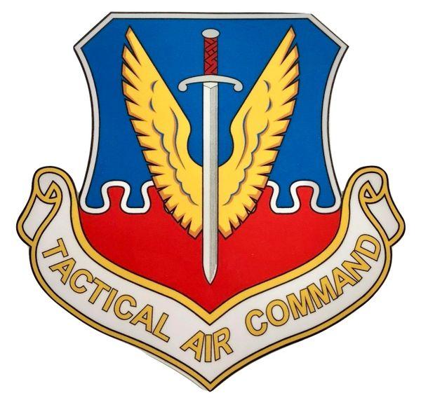 Tactical Air Command Peel and Stick Vinyl Decal DEC-0126