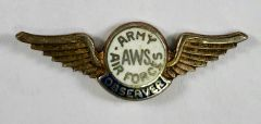 Vintage WWII Army Air Forces Civilian Observer Wings WIN-0117