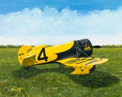 Sam Lyons Print, Gee Bee Z Racer LS-1085