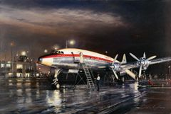 "John Young Print, Constellation ""Night Departure"""