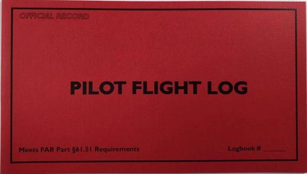 Student Pilot Flight Log Book LIT-0129