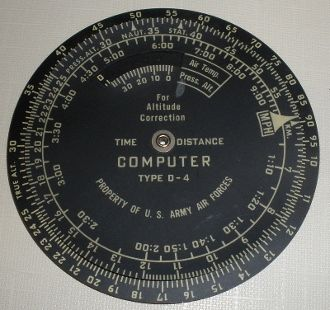 Computer- Time & Distance, Type D-4 COM-0102