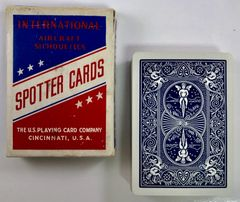 Genuine WWII Bicycle Brand Aircraft Spotter Cards ONE-0113