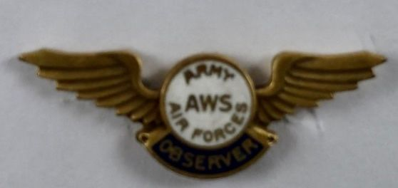 Genuine WWII Civilian Aircraft Spotter Wings WIN-0120