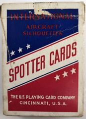 Vintage WWII Aircraft Spotter Cards PC-0102
