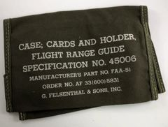 WWII Vintage Flight Range Guide Case COM-0110