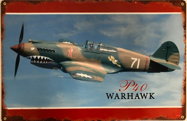 Curtiss P-40 Warhawk, Flying Tigers SIG-0166