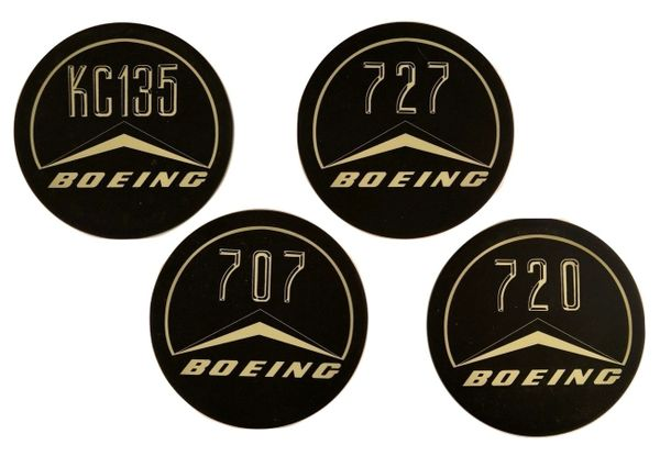 Early Boeing Jets Ceramic Drink Coasters COA-0101