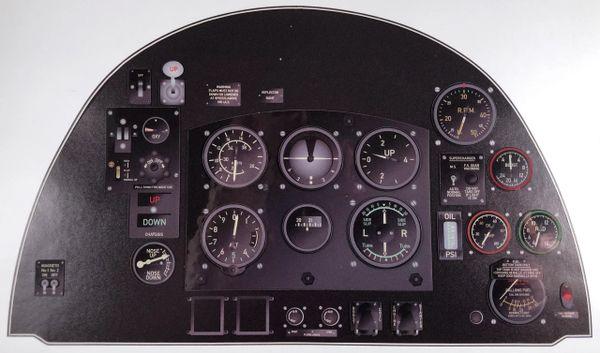 Miniature Supermarine Spitfire Instrument Panel MIN-SPIT-F