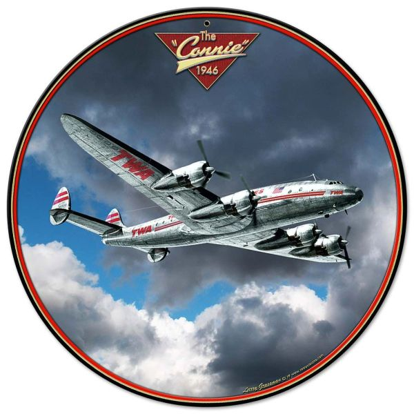 Lockheed Constellation Metal Sign SIG-0176