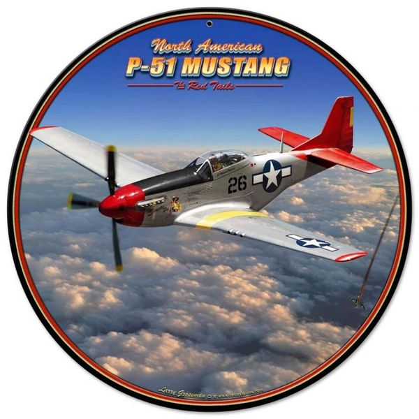 North American P-51 Mustang Red Tail, Tuskegee Airmen SIG-0152