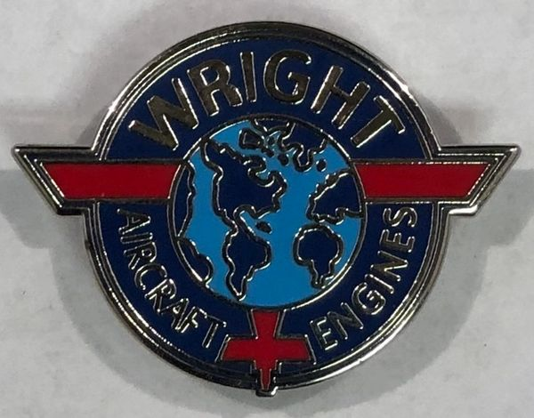 Wright Aircraft Engines Lapel Pin LP-0103