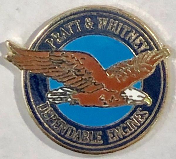 Pratt & Whitney Aircraft Engines Lapel Pin LP-0102