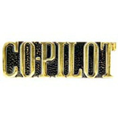 Co-Pilot Lapel Pin LP-0108