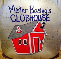"Boeing B-17 Flying Fortress Cockpit Hatch ""Mr. Boeing's Clubhouse"" NAP-0102"