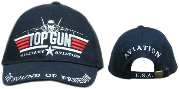 Top Gun Military Aviation Cap HAT-0101