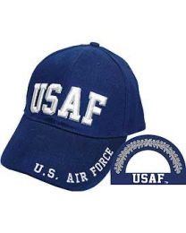 United States Air Force Navy Blue Ball Cap HAT-0102