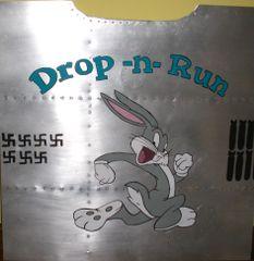 """Nose Art Panel- Bugs """"Drop and Run"""" NAP-0107"""