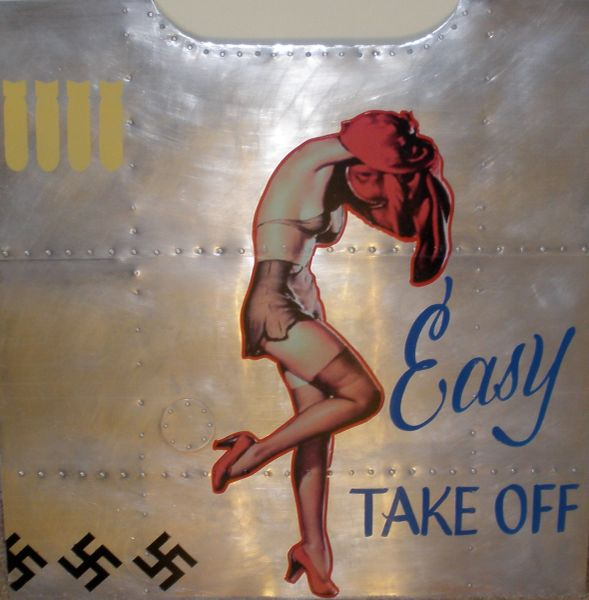 "Nose Art Panel- ""Easy Take Off"" NAP-0111"