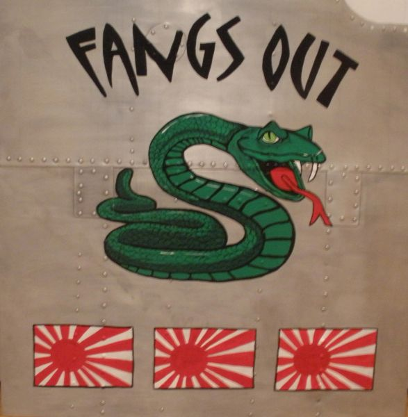 "Nose Art- Snake ""Fangs Out"" NAP-0116"