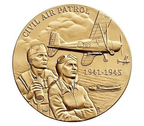 "Civil Air Patrol Bronze Medal 1 1/2"" USM-0105"